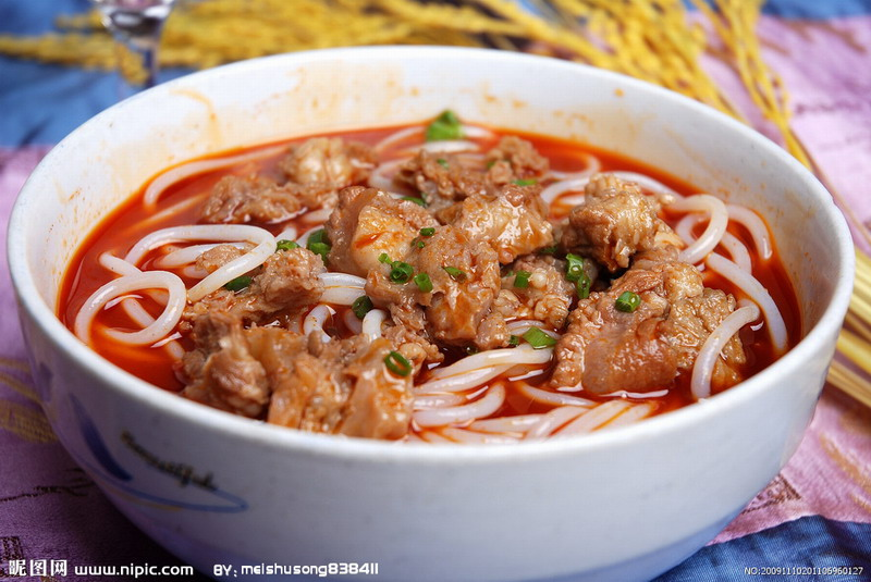 请问南充吃到上海米粉的?桂林永州血鸭图片